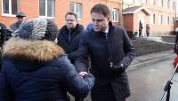 Кимовские новоселы получили ключи из рук губернатора Владимира Груздева, Фото: 9