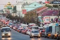 Транспортный коллапс в центре Тулы, Фото: 11