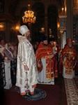 Пасхальная служба в Успенском соборе. 20.04.2014, Фото: 41