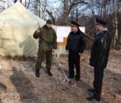 Лагерь ОМОН в Алексинском районе., Фото: 7
