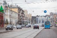 На ул. Советской в Туле убрали дорожные ограждения с трамвайных путей, Фото: 4