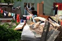 В Плеханово начали сносить дома в цыганском таборе, Фото: 71