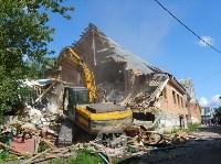 В Плеханово вновь сносят незаконные дома цыган, Фото: 24
