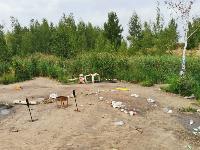 В Кондуках прошла акция «Вода России»: собрали более 500 мешков мусора, Фото: 1