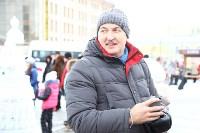 Арт-объекты на площади Ленина, 5.01.2015, Фото: 52