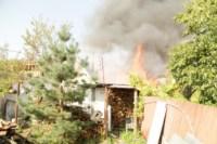 На улице Патронной загорелся частный дом, Фото: 8
