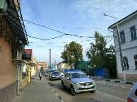 Улица Металлистов перекрыта, Фото: 3