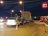 Столкновение Renault и грузовика, Фото: 3