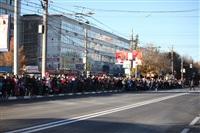 Третий этап эстафеты олимпийского огня: проспект Ленина, Фото: 2