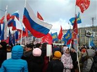 В Туле проходит митинг в поддержку Крыма, Фото: 3