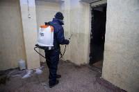 Дезинфекция в Пролетарском округе Тулы, Фото: 11