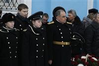Никита Руднев-Варяжский, внук легендарного командира «Варяга» с визитом в Тульскую область, Фото: 16