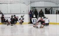 Председатель правительства Тульской области Юрий Андрианов вручил санки следж-хоккеистам региона, Фото: 16
