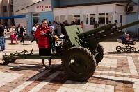 Открытие монумента и бронепоезда на Московском вокзале. 8 мая 2015 года, Фото: 4