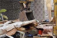 В тульском селе сносят незаконные цыганские постройки, Фото: 29