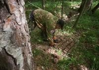 В лесу под Тулой поисковики нашли тайник с гранатами, Фото: 10