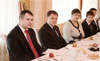 Владимир Груздев встретился со школьниками Тульской области, Фото: 9