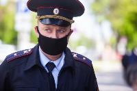 Полицейский рейд в тульских маршрутках: на пассажиров без масок составляют протоколы, Фото: 29