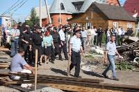 Демонтаж незаконных цыганских домов в Плеханово и Хрущево, Фото: 36