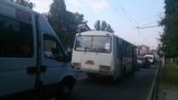ДТП троллейбус столкнулся с Фольксвагеном, Фото: 2