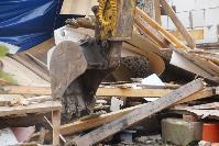 В тульском селе сносят незаконные цыганские постройки, Фото: 32