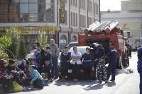Массовая эвакуация людей в Туле, Фото: 17