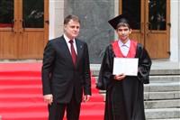 Владимир Груздев поздравил выпускников магистратуры ТулГУ, Фото: 32