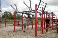 В Туле на набережной Упы открылась уникальная спортплощадка для занятий фитнесом и бодибилдингом, Фото: 3