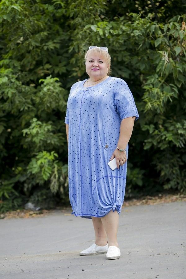 Ирина Диканова, 48 лет. Рост 160 см, вес 116 кг.