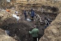 На Крестовоздвиженской площади Тулы обнаружено кладбище 18 века, Фото: 6