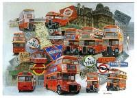 Central London Red Buses 1950/60's Красные автобусы Центрального Лондона 1950−1960-х годов, Фото: 2