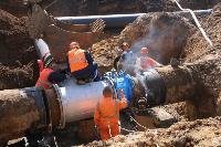 Как ведется монтаж водовода, питающего водой Пролетарский округ Тулы. Фото, Фото: 16