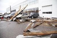 В Туле сорвало крышу делового центра, Фото: 14