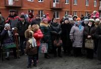 Губернатор Владимир Груздев вручил ключи от квартир новоселам в Узловском районе, Фото: 2