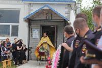 Жуткое ДТП в Суворове: проститься с погибшим полицейским пришли сотни человек, Фото: 9