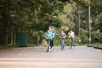 Туляки «погоняли» на самокатах в Центральном парке, Фото: 23