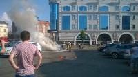 """Возле ТЦ """"Утюг"""" сгорела легковушка, Фото: 5"""