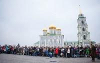 Средневековые маневры в Тульском кремле. 24 октября 2015, Фото: 108