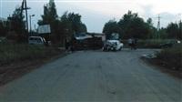 Под Тулой «Мерседес» не уступил дорогу пьяному на «семерке», Фото: 1