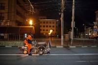 Нанесение дорожной разметки в Туле, Фото: 26