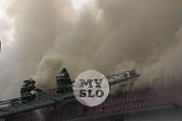 Пожар в Щекино, Фото: 27