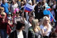 Тульская Федерация профсоюзов провела митинг и первомайское шествие. 1.05.2014, Фото: 63