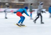 В Туле прошли массовые конькобежные соревнования «Лед надежды нашей — 2020», Фото: 6