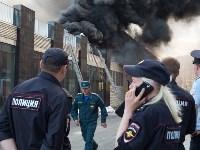 Загорелся недостроенный ТЦ на Красноармейском проспекте, Фото: 48