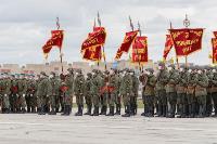 В Туле прошла первая репетиция парада Победы: фоторепортаж, Фото: 6