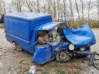 Двойное ДТП на трассе Тула - Новомосковск, Фото: 2