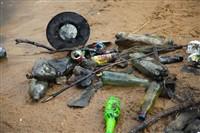 Очистка пруда в Центральном парке, Фото: 32