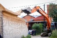 В Плеханово убирают незаконные строения, Фото: 23
