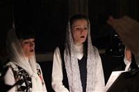 Пасхальная служба в Успенском соборе. 20.04.2014, Фото: 7