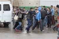 В ходе зачистки на Центральном рынке Тулы задержаны 350 человек, Фото: 14